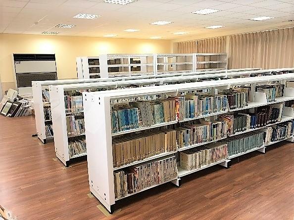 鶯歌分館-典藏室書架及角鋼收納架