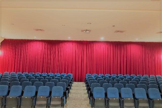 108年三重分館演講廳布幕區